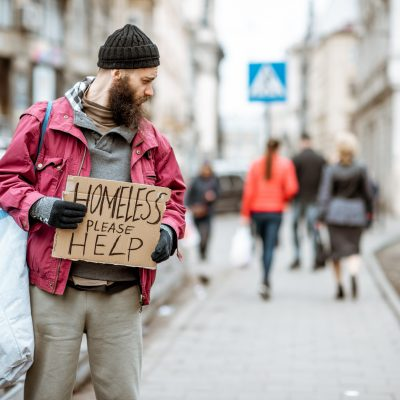 Seasonal response to help the homeless during the winter months